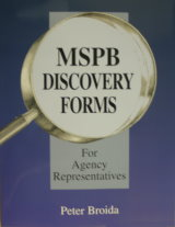 MSPB Discovery Forms Book for Agency Representatives