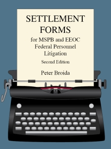 Dewey Publications Inc  - Settlement Forms for MSPB and EEOC