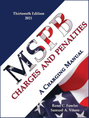 MSPB Charges & Penaltie